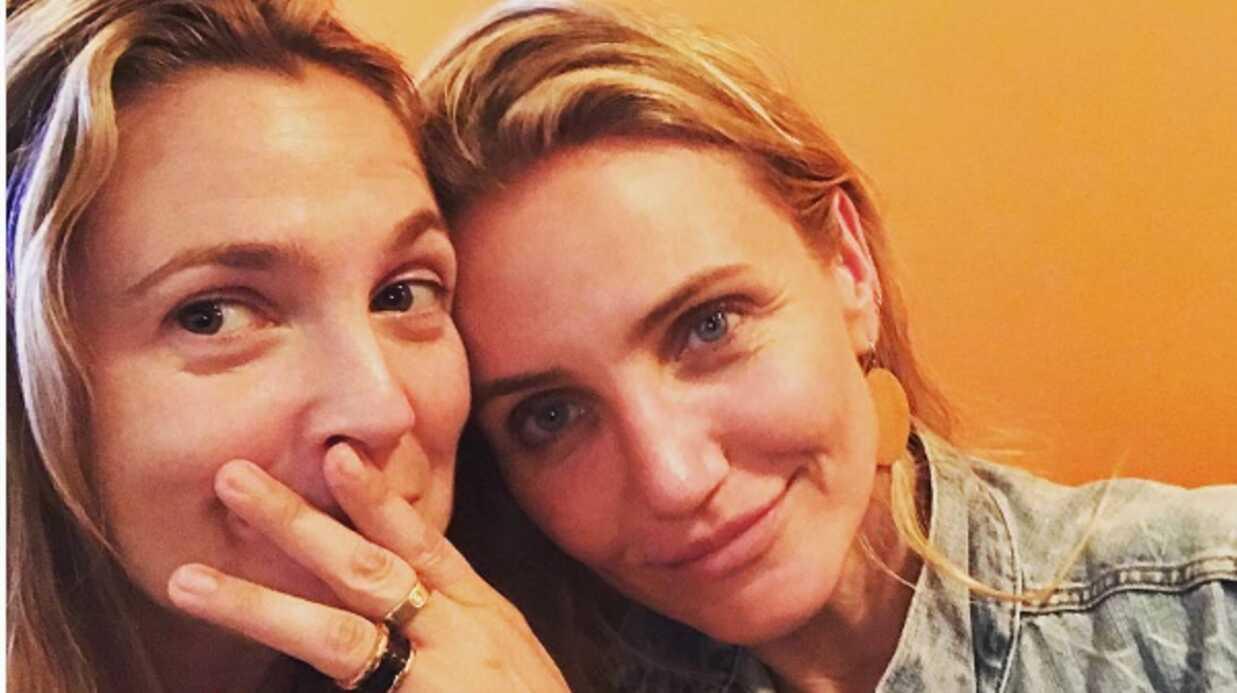 PHOTO Drew Barrymore fait une très belle déclaration d'amitié à Cameron Diaz