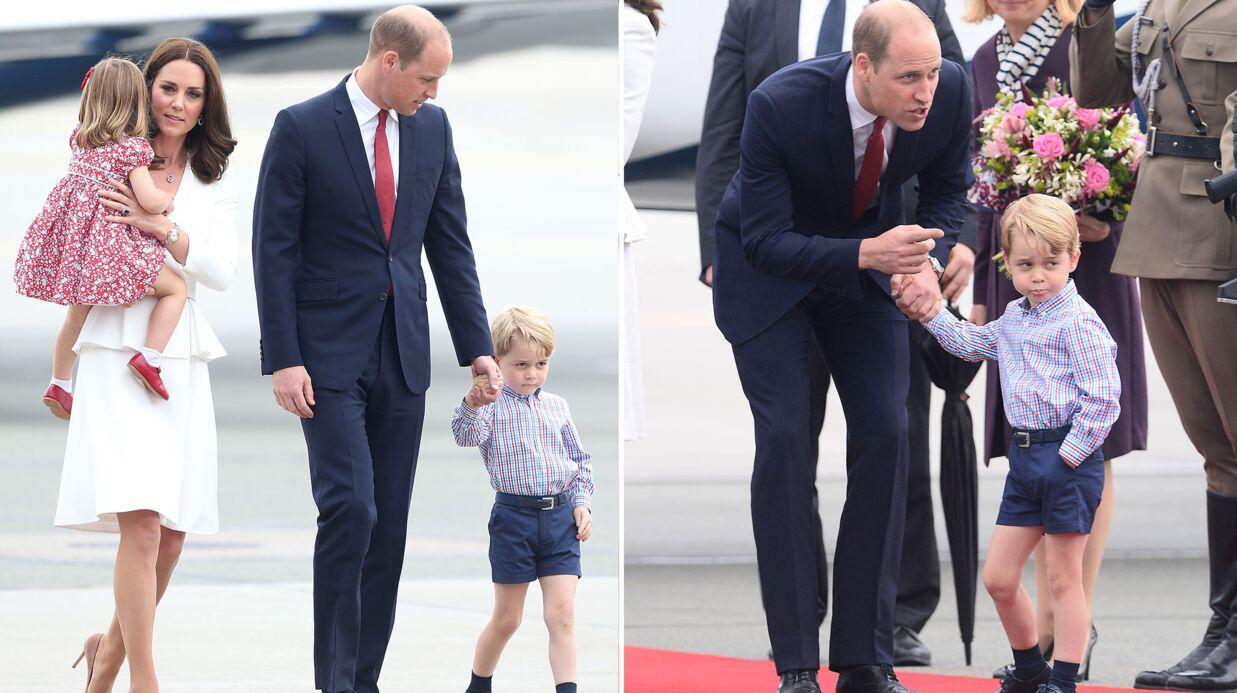 PHOTOS Le prince George fait la tête lors d'une visite officielle et c'est drôle