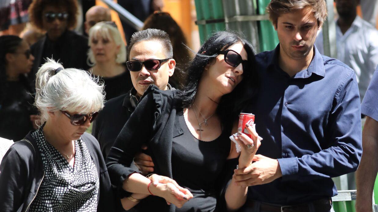 Ludovic Chancel: sa compagne effondrée lors de ses obsèques