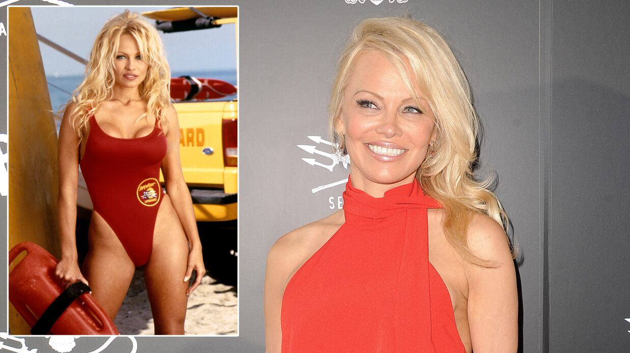 Pamela Anderson révèle ce qu'elle a fait de son maillot rouge d'Alerte à Malibu