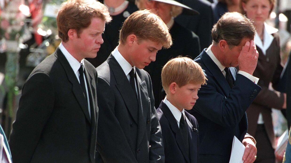 Lady Diana: la terrible épreuve qui a été imposée à William et Harry lors de ses funérailles