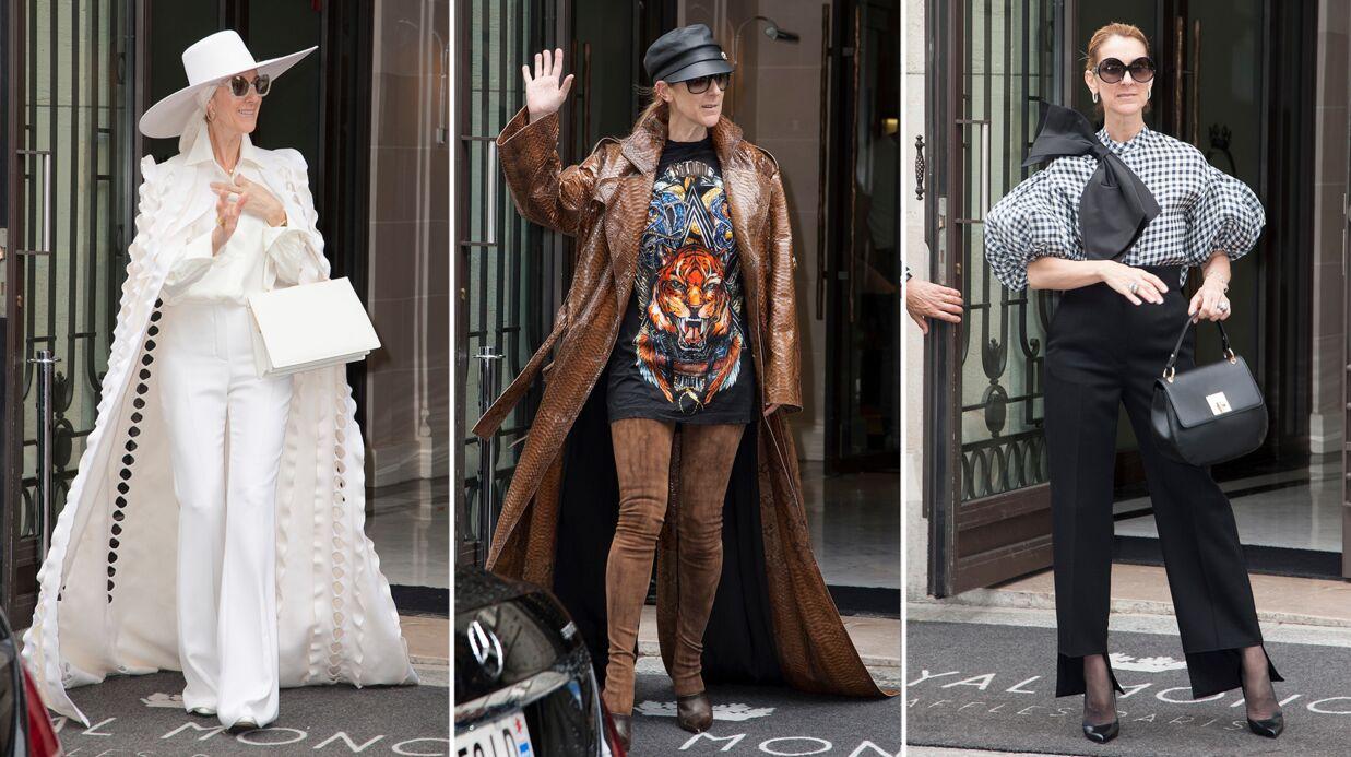 PHOTOS Céline Dion: ses jumeaux de 6 ans sont à l'origine de son étonnant nouveau style
