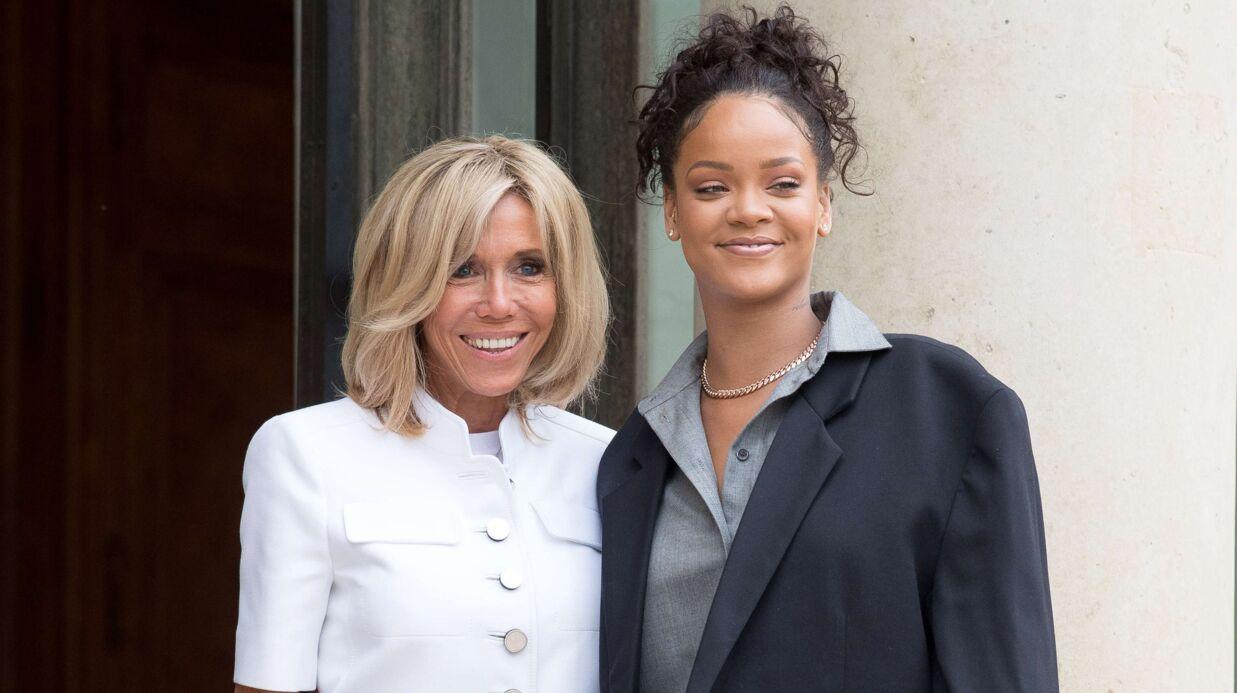 Rihanna a eu  «une rencontre absolument incroyable» avec les Macron à l'Elysée