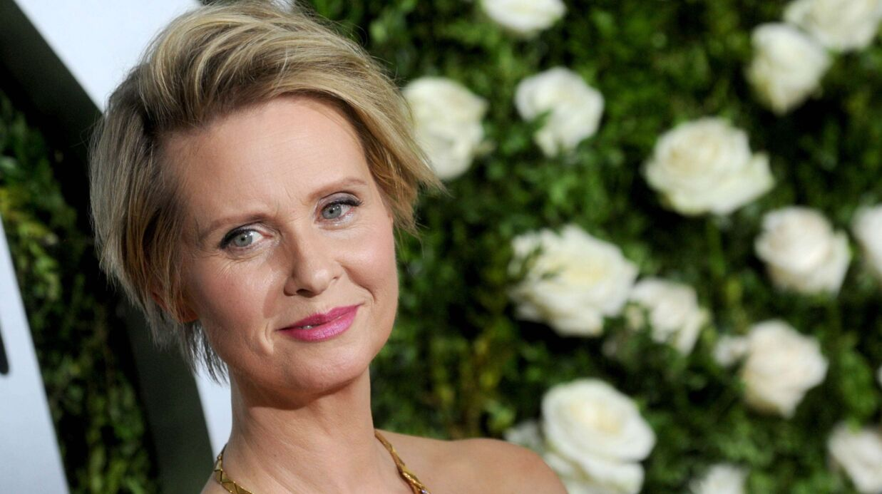Cynthia Nixon (Sex and the city) : l'ac­trice bien­tôt gouver­neure de New York ?