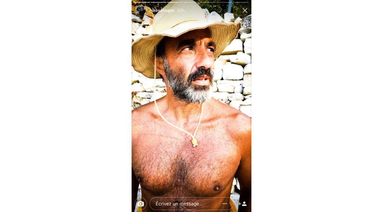 PHOTOS Nikos Aliagas: barbu et torse nu, l'animateur est très sexy