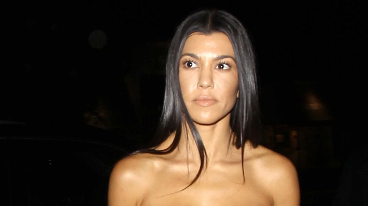 PHOTOS Kourtney Kardashian: sa robe ultra sexy pour une sortie en amoureux