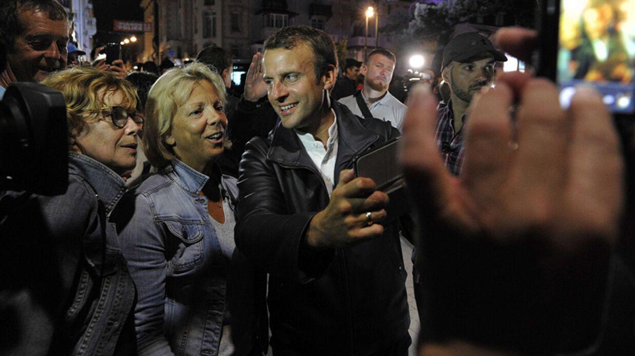 Emmanuel Macron: le prix du fameux blouson en cuir qu'il portait au Touquet