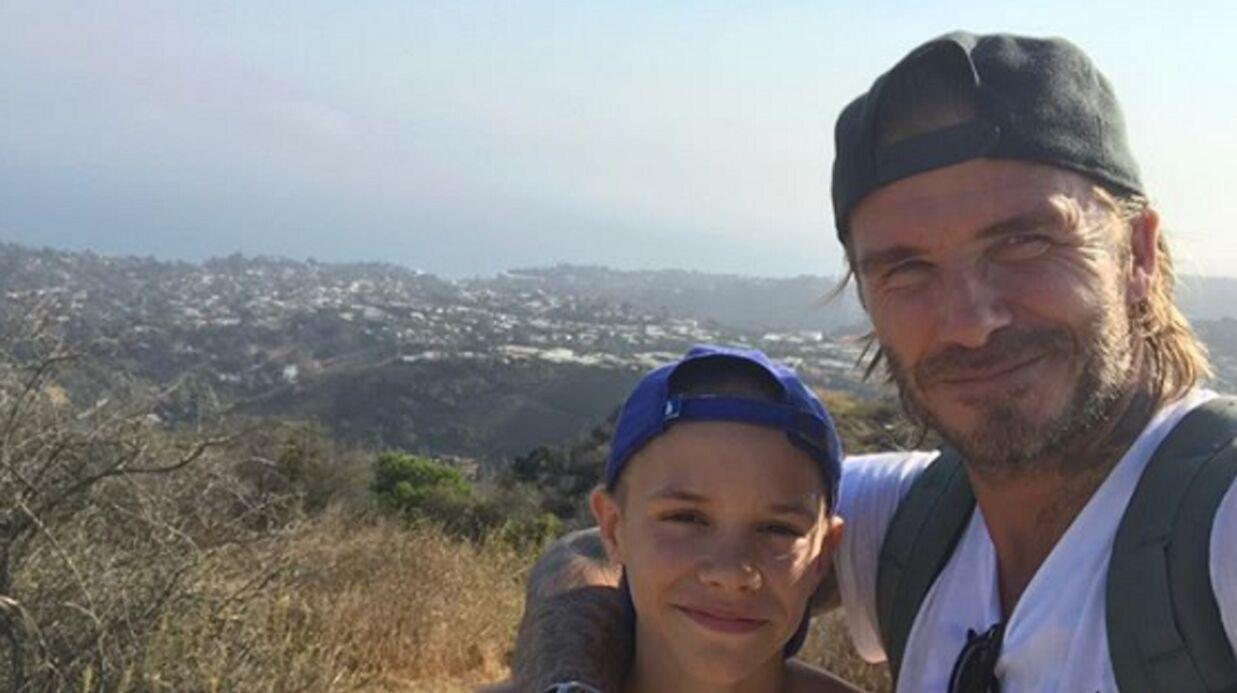 PHOTO David Beckham poste un message trop chou pour l'anniversaire de son fils Romeo