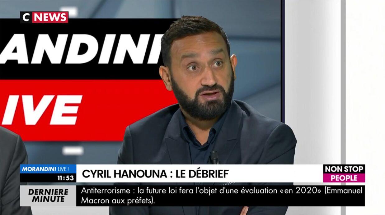 Cyril Hanouna: après avoir annoncé (à tort) le retour d'Enora Malagré dans TPMP, il s'explique