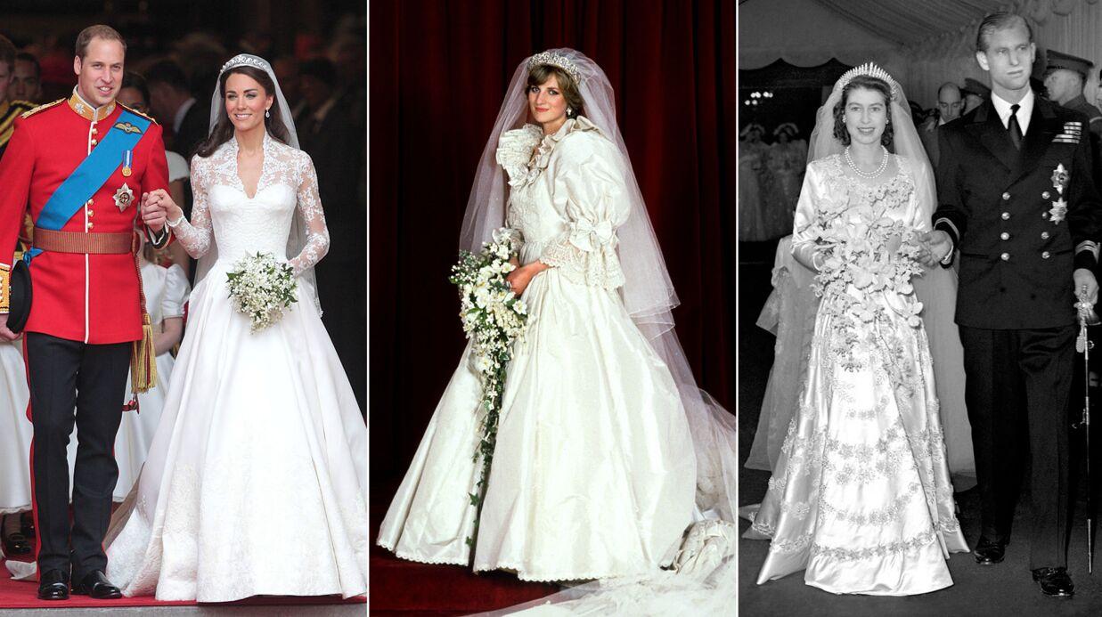 Découvrez les parfums portés par Kate Middleton, Lady Di et la reine Elisabeth II lors de leurs mariages