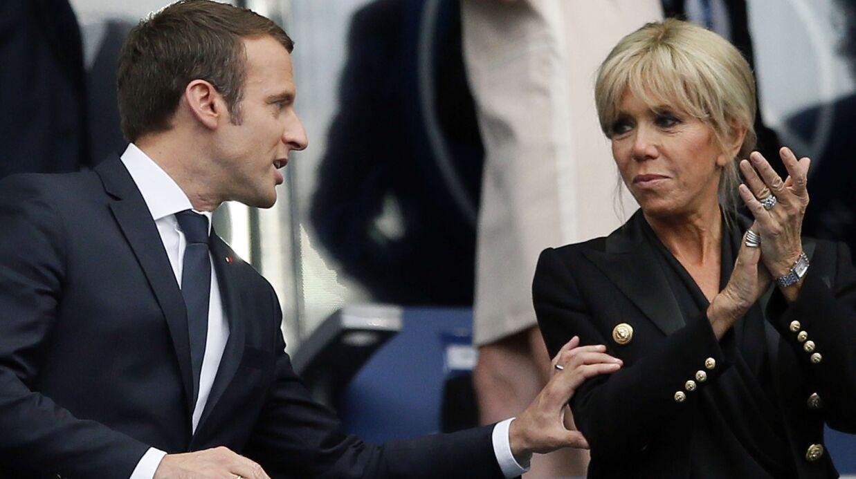 Brigitte Macron: «très attentionné», Emmanuel Macron «l'embrasse souvent»