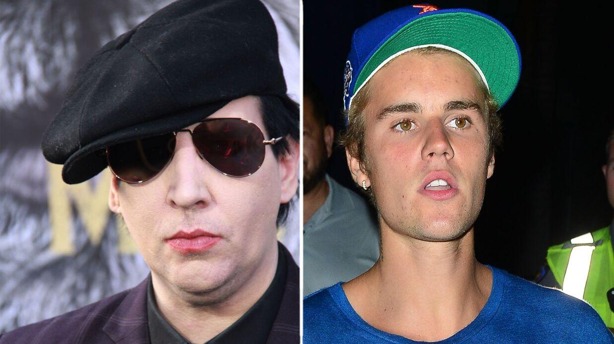 Marilyn Manson déteste Justin Bieber et explique pourquoi