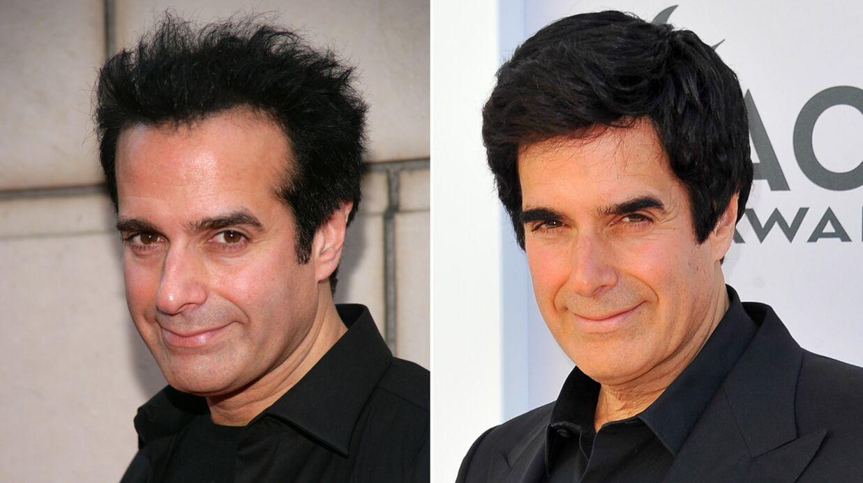 PHOTO David Copperfield arbore une énorme touffe de cheveux (et les sourcils de François Fillon)