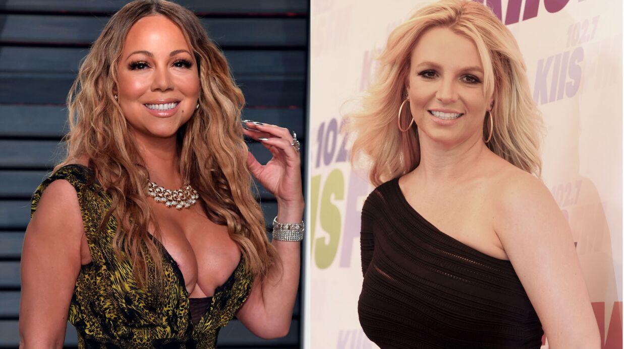 PHOTO Quand Britney Spears tombe par hasard sur Mariah Carey