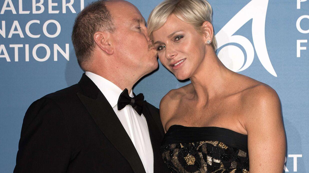 Albert et Charlène de Monaco très complices au gala pour l'océan de Monte-Carlo