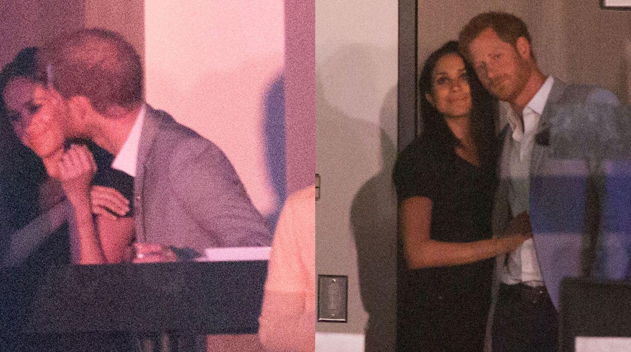 PHOTOS Le prince Harry et Meghan Markle très amoureux: ils s'embrassent en public