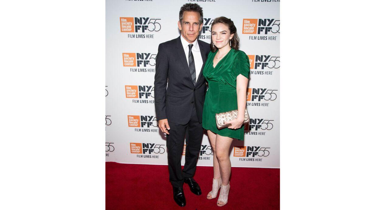 PHOTOS Ben Stiller prend la pose avec sa fille, et elle est ravissante