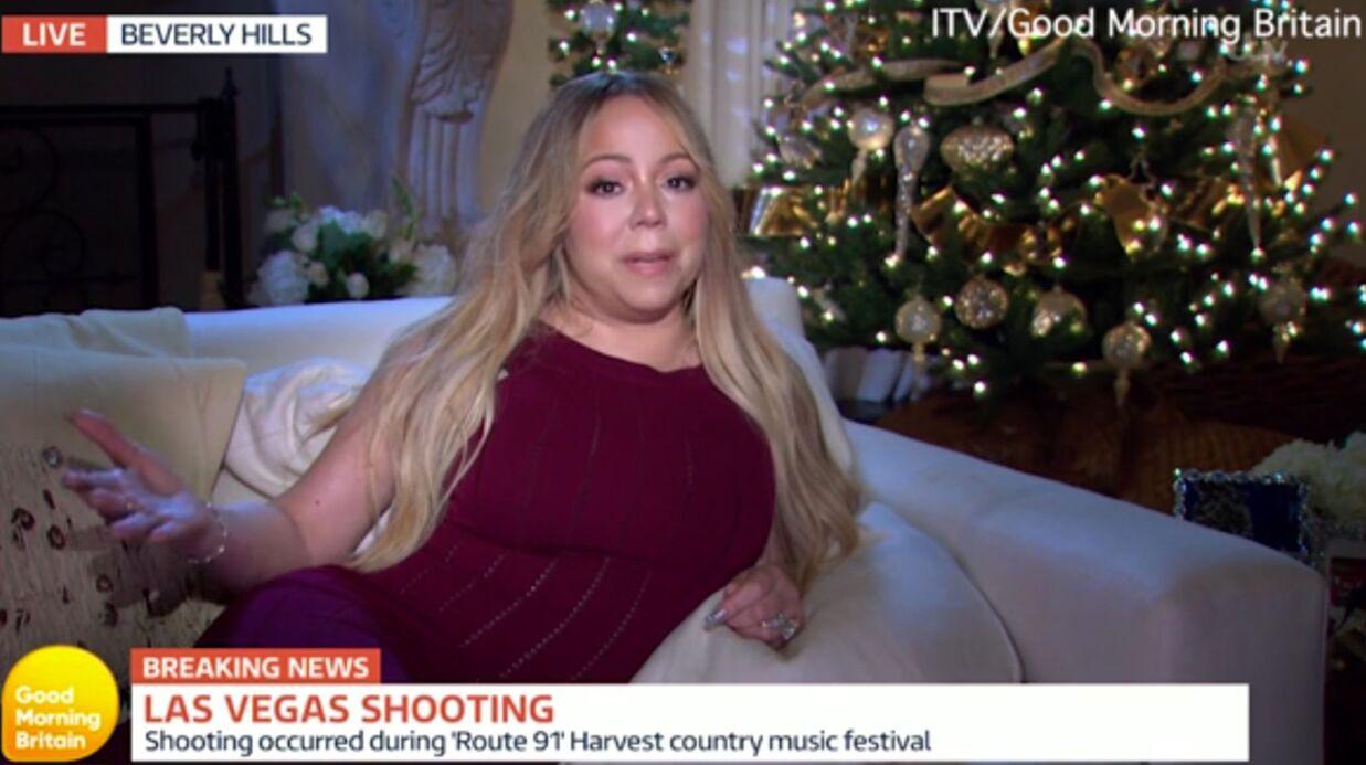 Mariah Carey fait scandale en commentant la fusillade à Las Vegas, couchée sur un divan
