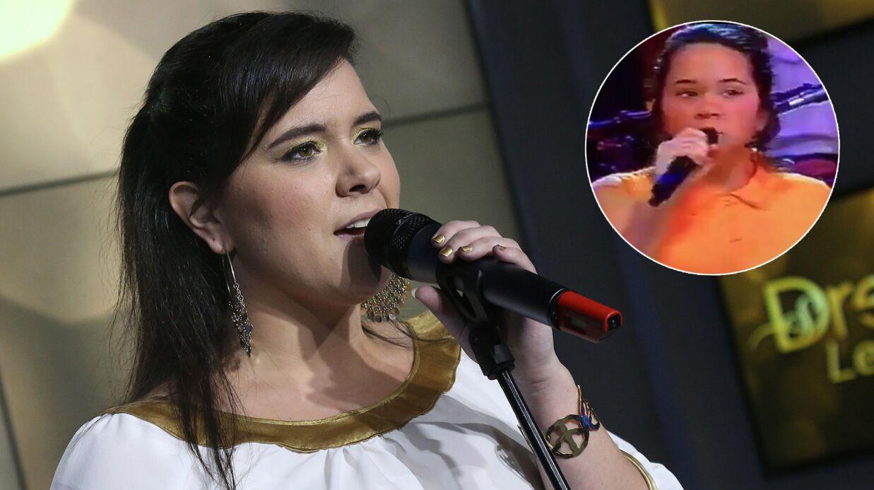 Magalie Vaé: des images d'elle à 12 ans, elle chantait du Lara Fabian dans Fa Si La Chanter