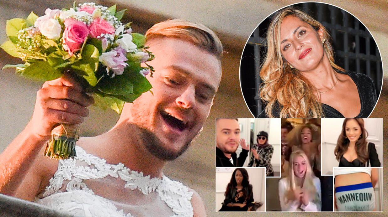 PHOTOS Jeremstar s\u0027est vraiment marié avec lui même  découvrez la  cérémonie et les invités