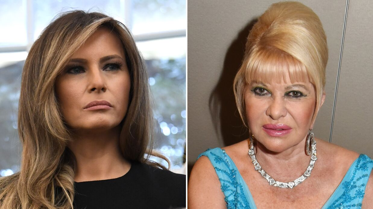 Melania Trump: taclée par Ivana, la première épouse de Donald, elle la remet à sa place