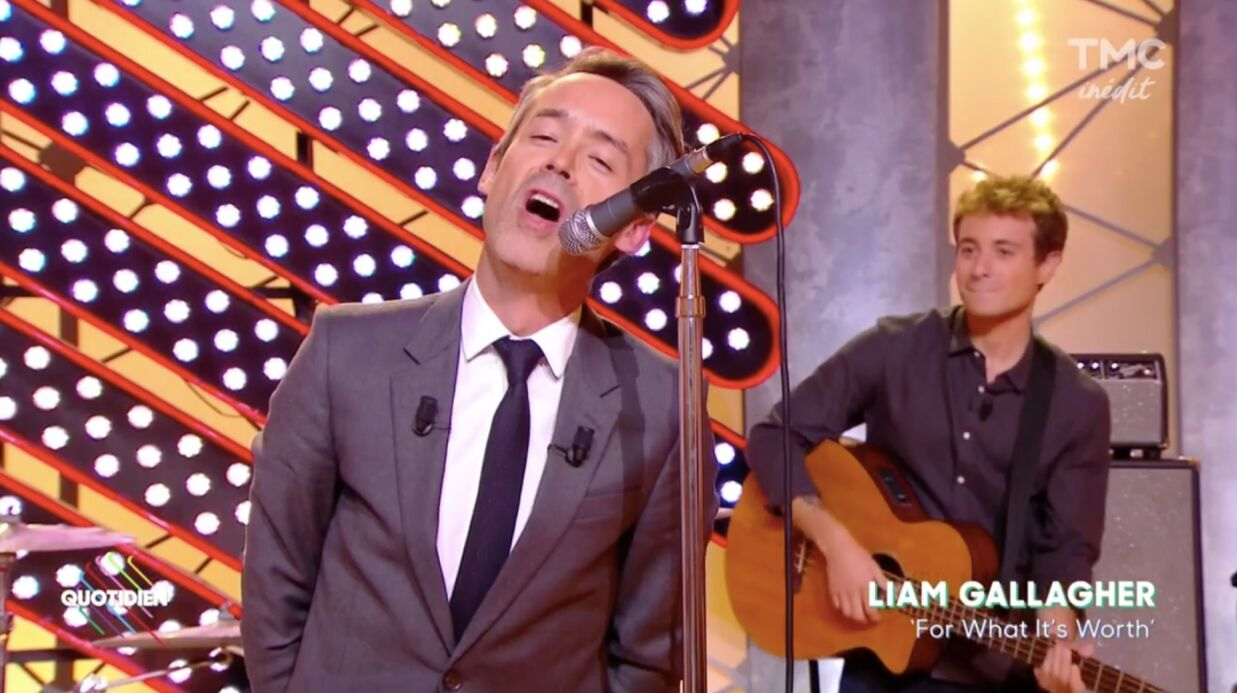 Quotidien: Yann Barthès chante à la place de Liam Gallagher !