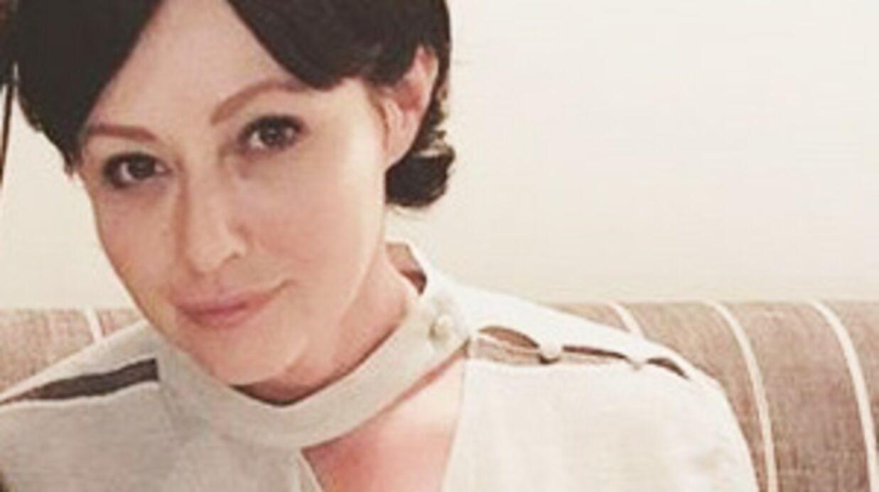 Shannen Doherty évoque sa lutte contre le cancer avec une photo d'elle bouleversante