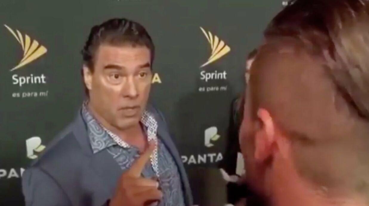 Un acteur mexicain gifle (très) violemment un journaliste