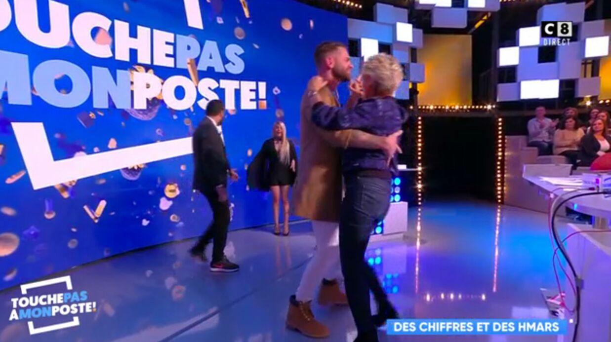 VIDEO Sophie Davant: son zouk enflammé avec Keen'V dans Touche pas à mon poste