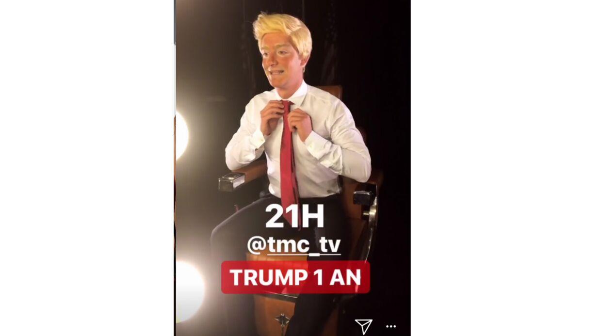 Martin Weill déguisé en Donald Trump, la photo hilarante!