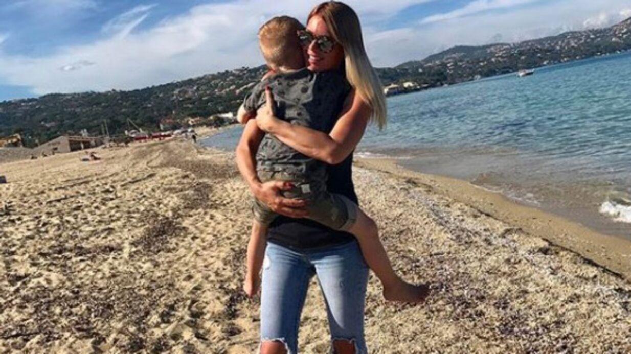 PHOTO Amélie Neten: sa jolie déclaration d'amour à son fils Hugo