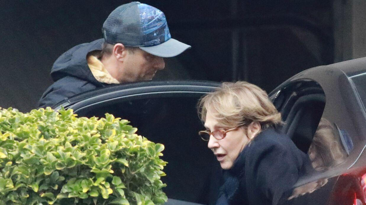 PHOTOS EXCLU Johnny Hallyday hospitalisé: David Hallyday et Nathalie Baye ensemble à son chevet