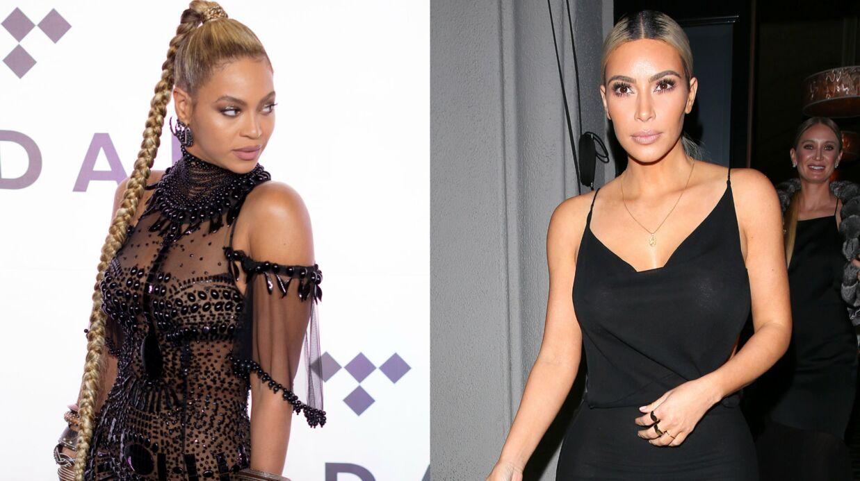 Kim Kardashian et Beyoncé se sont revues au mariage de Serena Williams