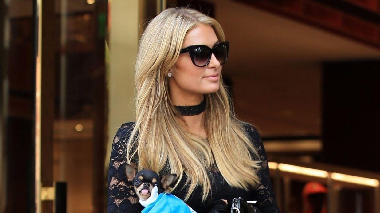 PHOTOS Paris Hilton frôle l'accident de culotte dans les rues de Beverly Hills