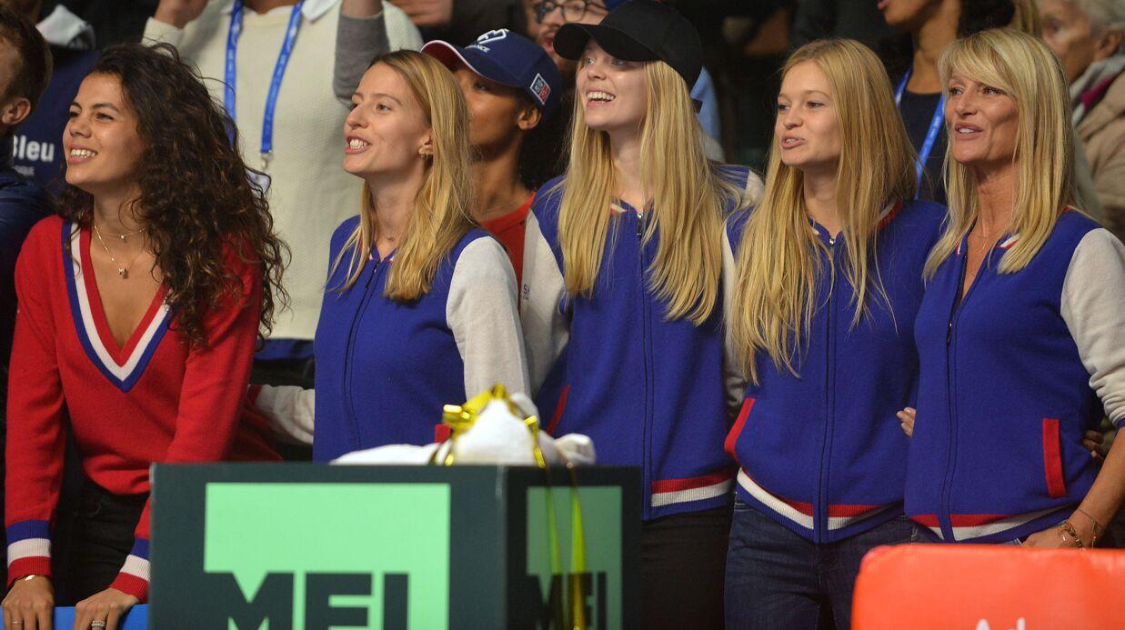 PHOTOS Coupe Davis: Jo-Wilfried Tsonga, Yannick Noah… leurs compagnes à fond derrière eux