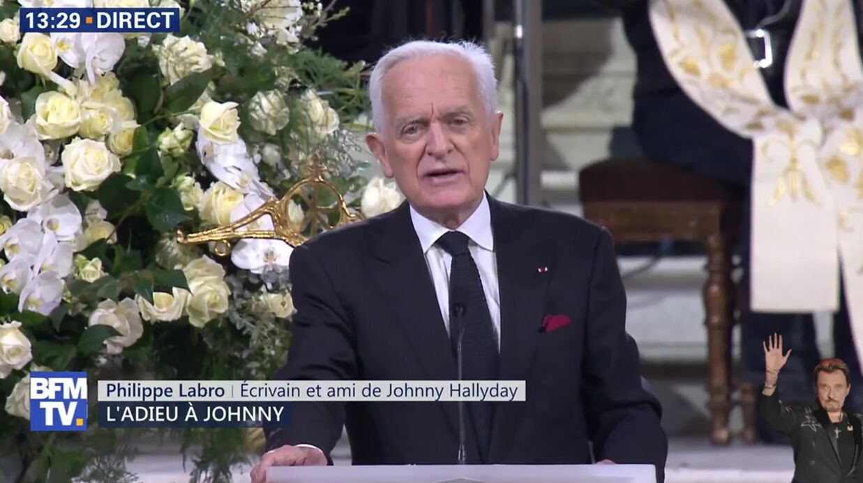 Hommage à Johnny Hallyday: son ami Philippe Labro raconte ses tout derniers instants