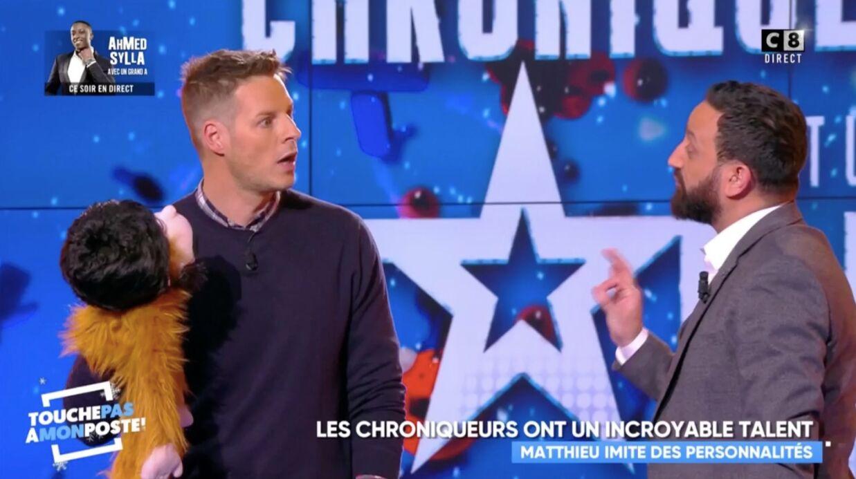 VIDEO Matthieu Delormeau recadré par Cyril Hanouna après une blague sur les personnes handicapées