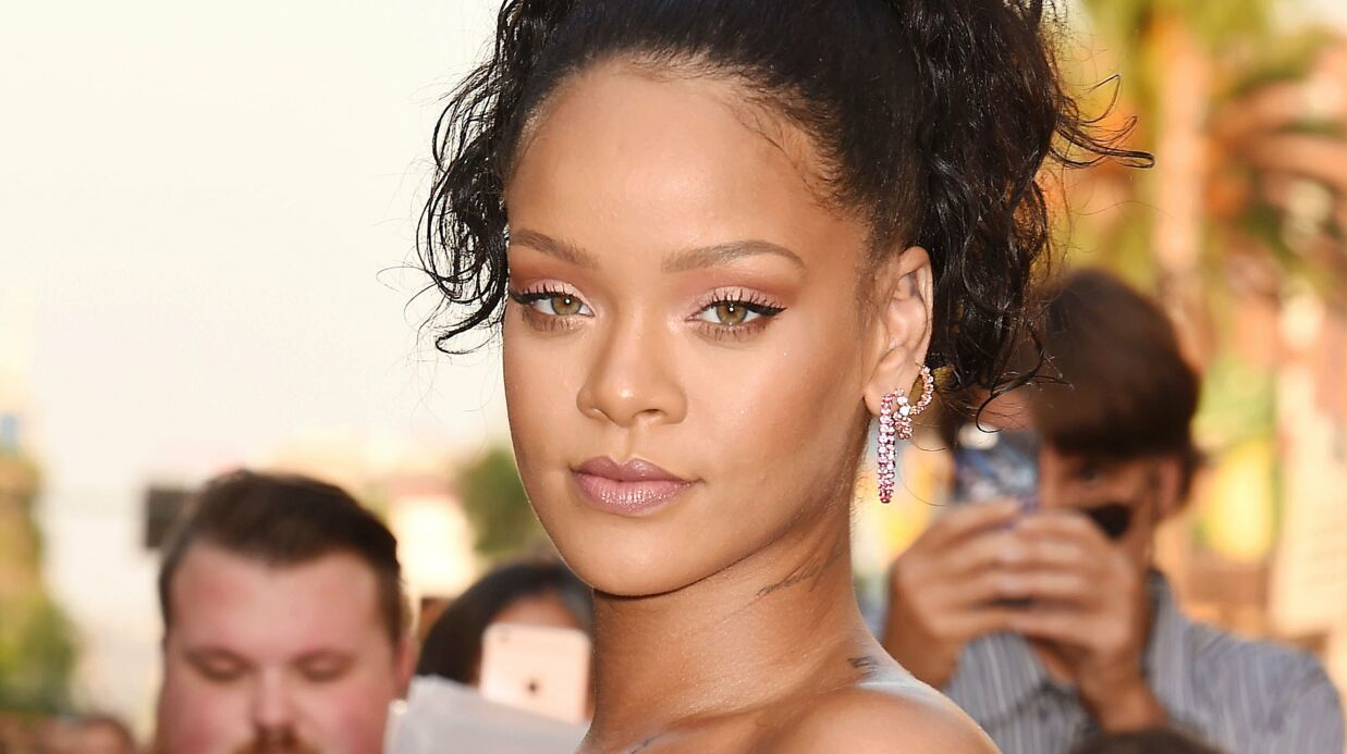 Rihanna en deuil (Photos)