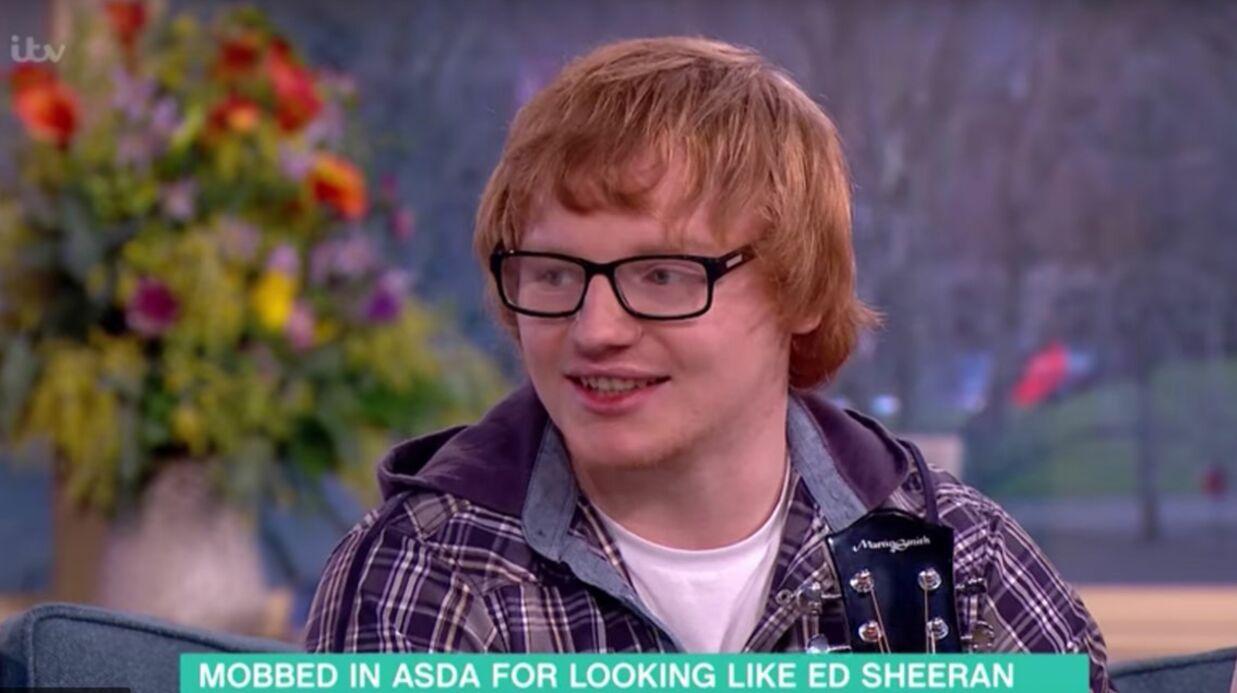 Ce caissier anglais est le sosie parfait d'Ed Sheeran