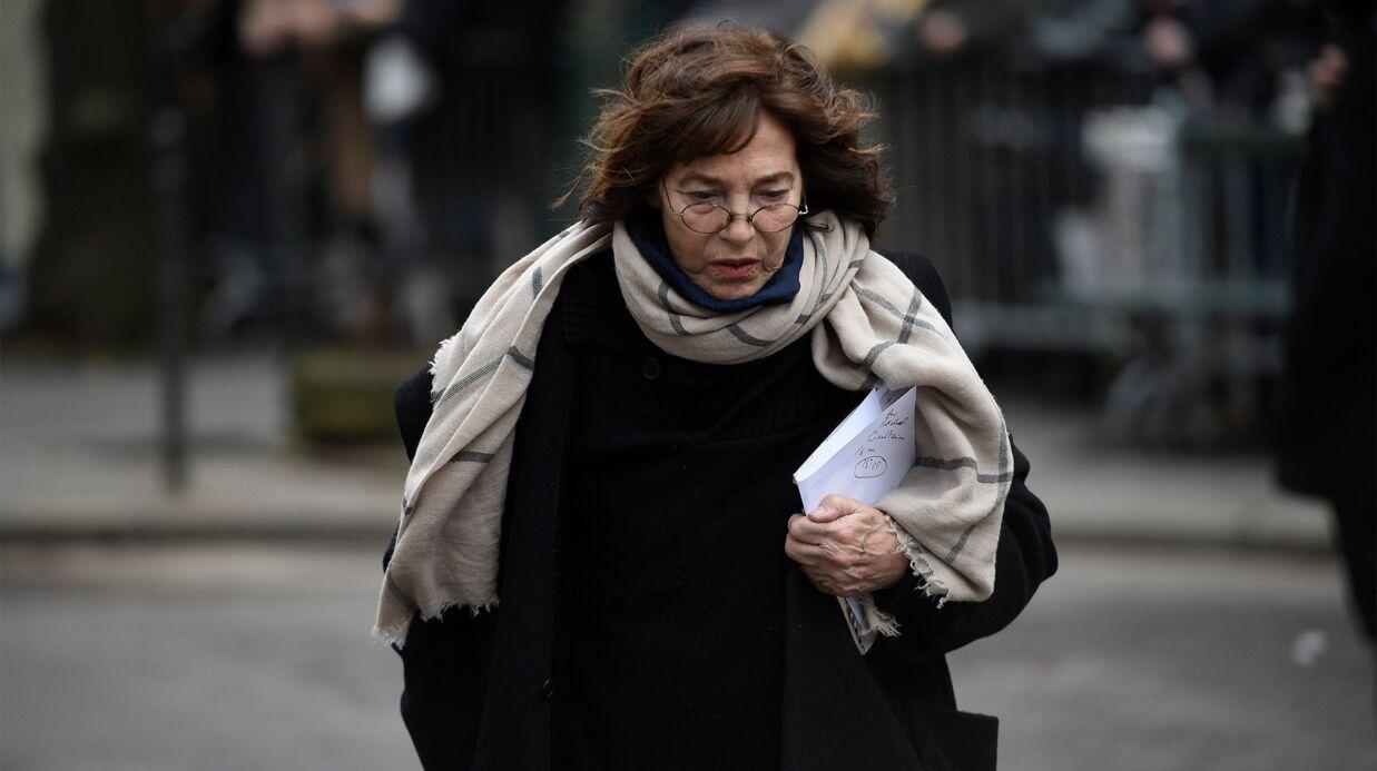 Mort de France Gall: L'émotion de Jane Birkin aux obsèques de la chanteuse