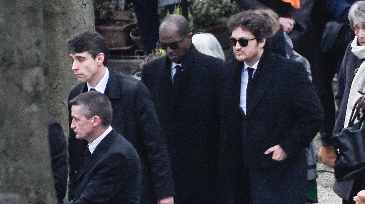 PHOTOS Mort de France Gall: son fils Raphaël Hamburger et son compagnon Bruck Dawit unis dans la peine