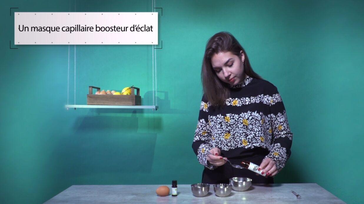 VIDEO LA MINUTE DIY: Comment fabriquer un masque pour donner de l'éclat aux cheveux ternes