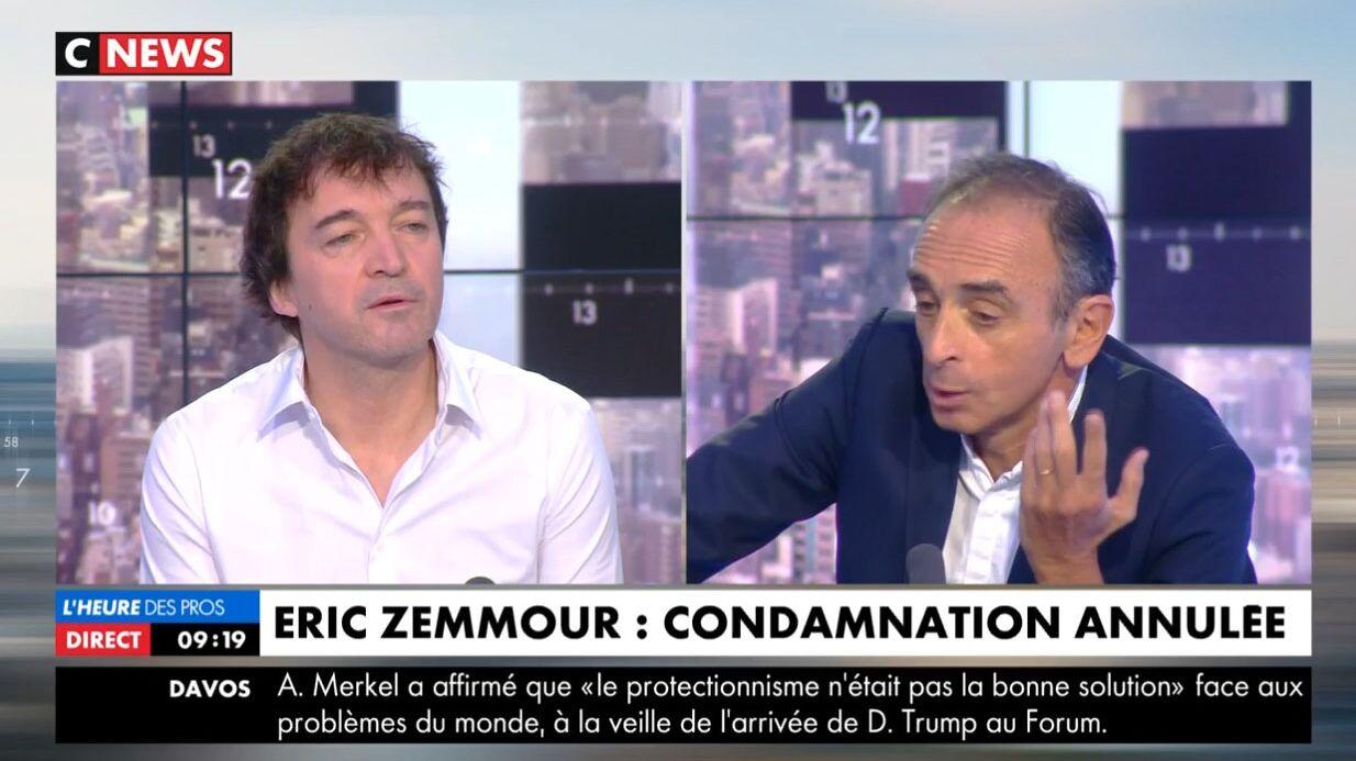Furieux contre Éric Zemmour, il quitte le plateau de CNews (vidéo) — Cali