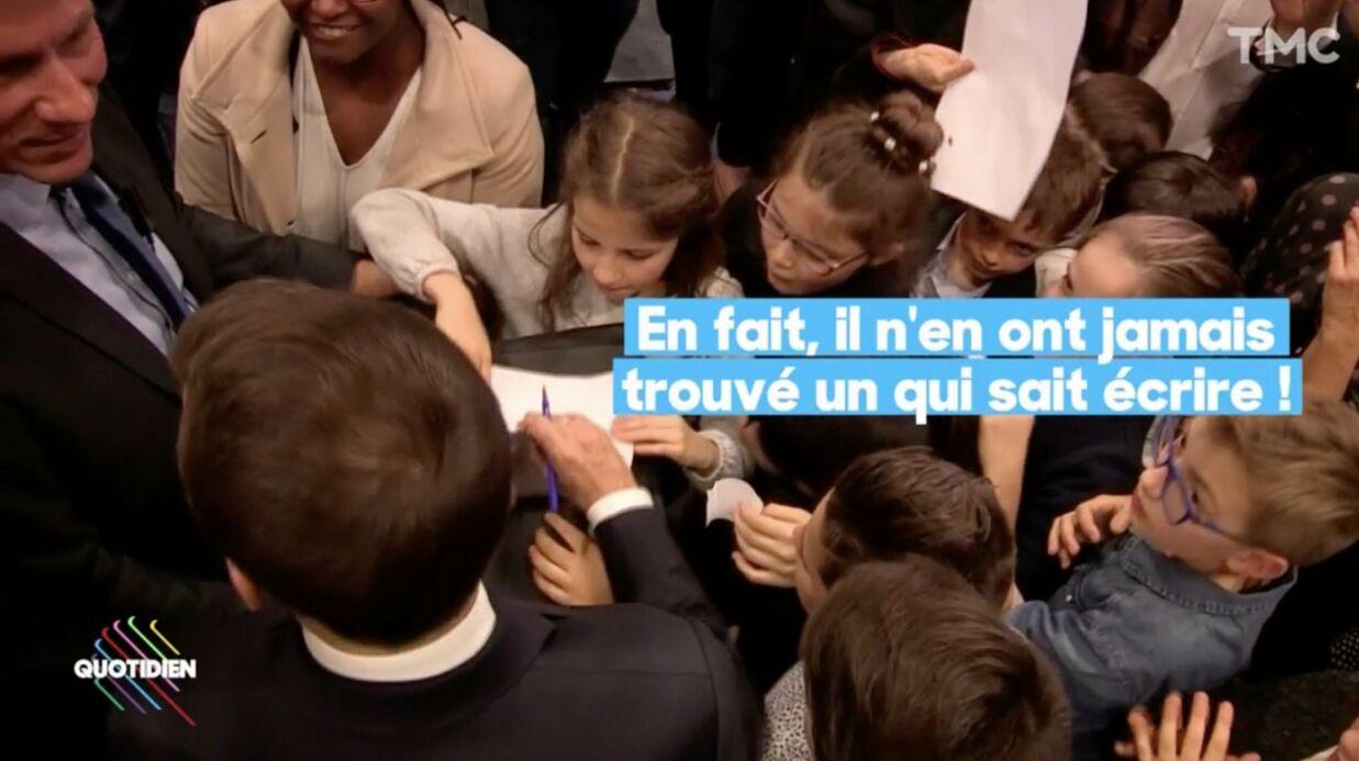 Le garde du corps d'Emmanuel Macron le traite d'