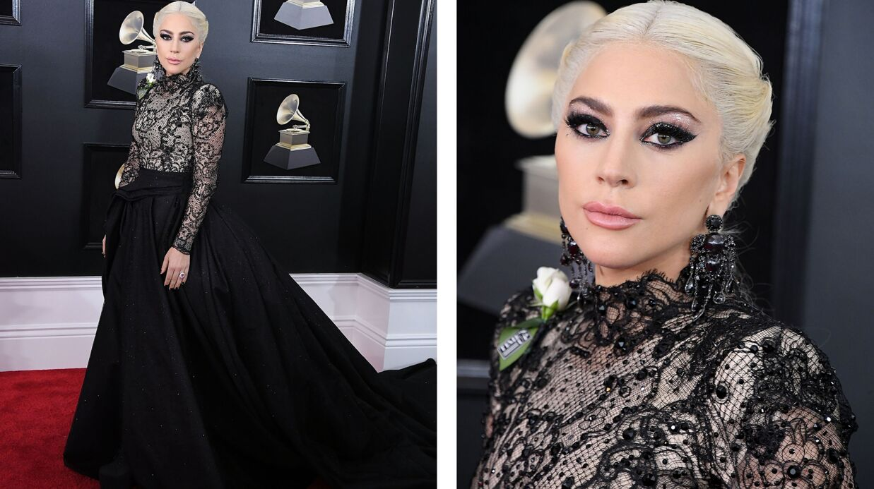 Tendance make-up : le smoky glit­ter de Lady Gaga