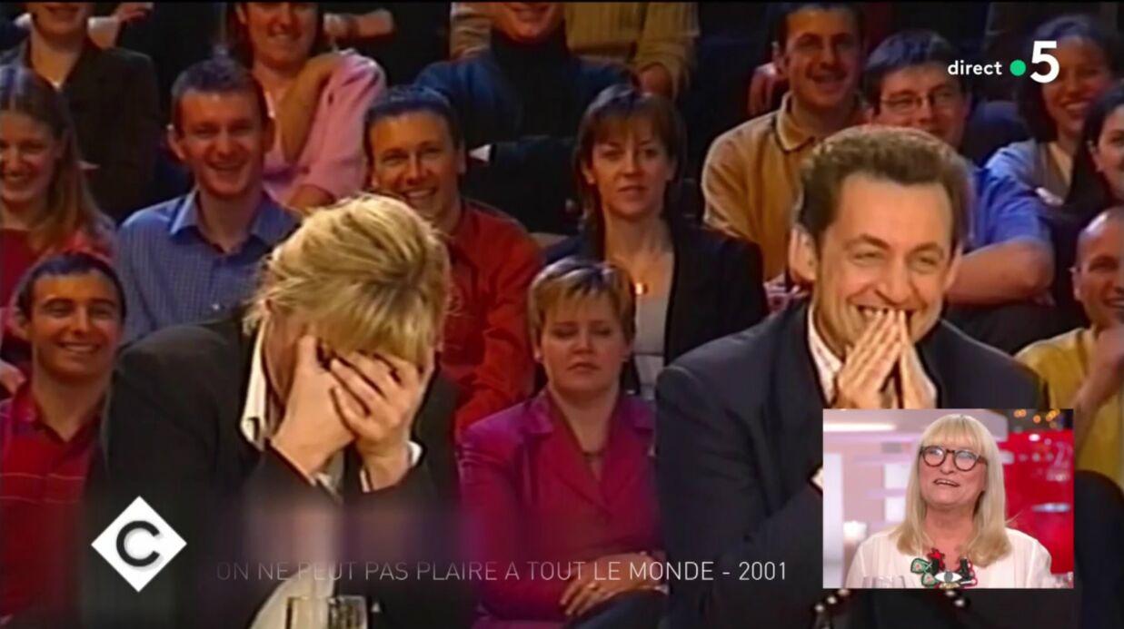 VIDEO Christine Bravo: 17 ans après, elle explique enfin les raisons de son fou rire avec Nicolas Sarkozy