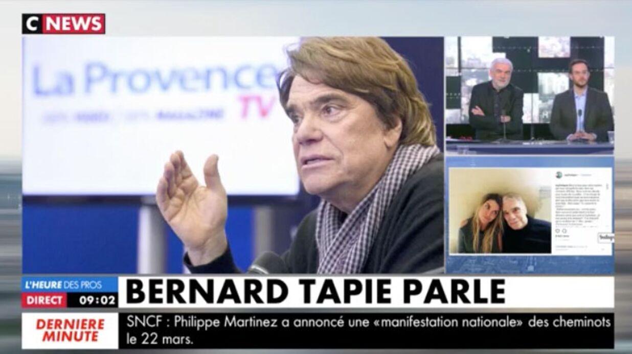 VIDEO Bernard Tapie appelle CNews en direct et donne de ses nouvelles