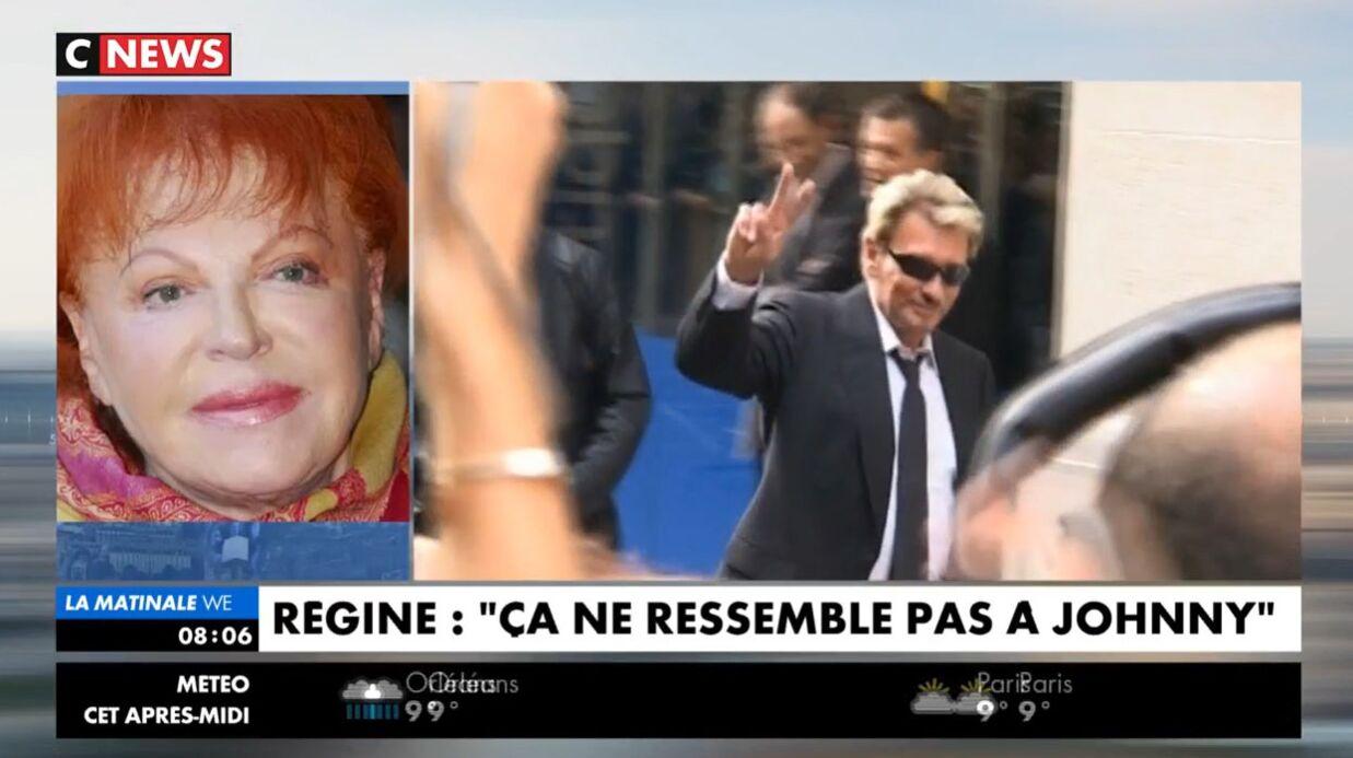 Héritage Johnny Hallyday: Régine fait part de ses doutes sur le testament