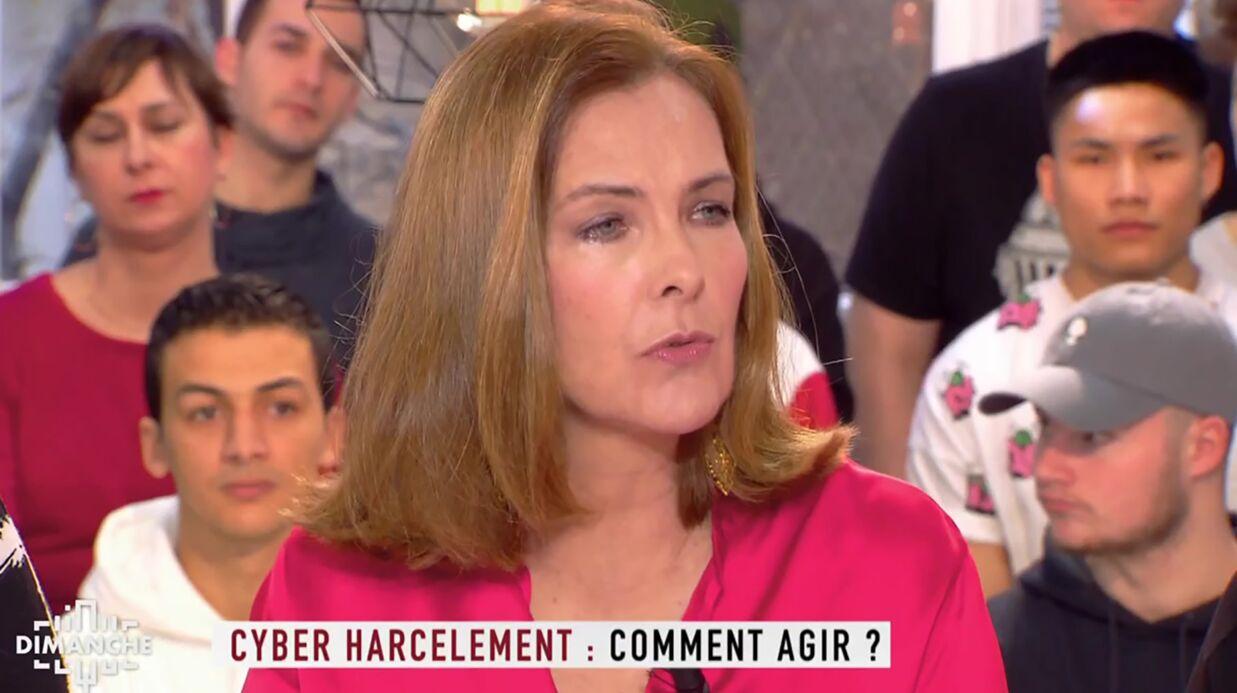 Carole Bouquet raconte avoir été harcelée par des pédophiles