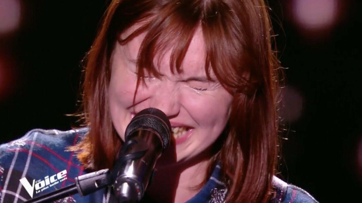 The Voice 7 vidéo : la très émouvante Chloé finit en larmes…